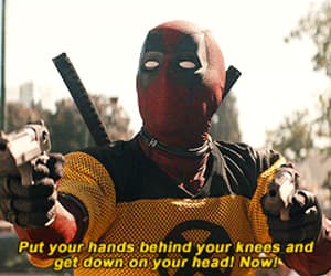 deadpool, funny, and wade wilson image