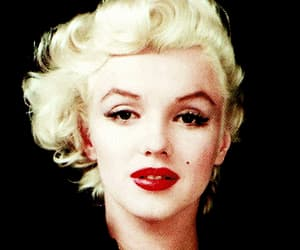 alone, Marilyn Monroe, and night image