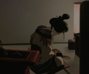 aesthetic, anime, and geisha image
