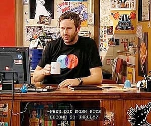 the it crowd, chris o'dowd, and something happened image