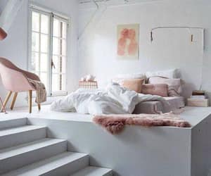 bedroom, interior, and modern image