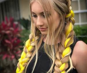 autumn, style, and braids image