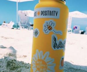 aesthetic, yellow, and beach image