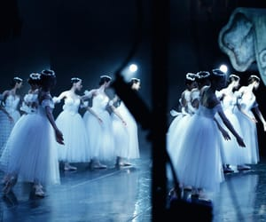 backstage, ballerina, and ballet image