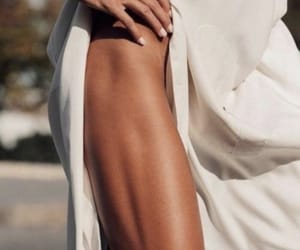 chic, muscles, and classy image