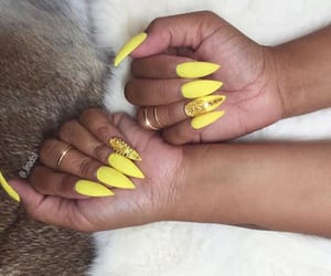 acrylics, claws inspo, and girly inspiration image