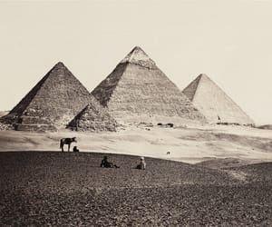 19th century, pyramids, and ancient egypt image