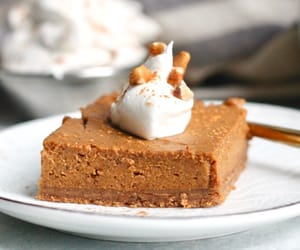 desserts, food, and pumpkin image