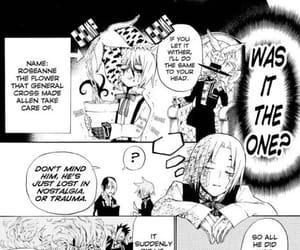 allen, d.gray-man, and cr image