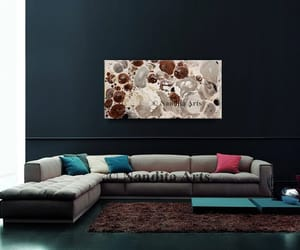 Abstract Painting, modern art, and large wall art image