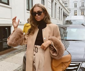 chic, coat, and dior image