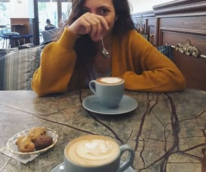 brunette, cappuccino, and chocolate image
