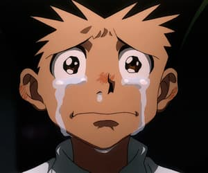 anime, cry, and hunterxhunter image