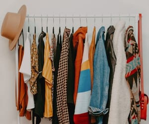 closet, girl, and clothes image