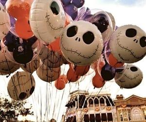 Halloween, balloons, and autumn image