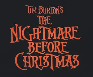 Halloween, the nightmare before christmas, and movie image