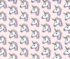 unicorn, patron, and pattern image