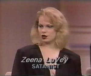satanist, Taylor Swift, and zeena lavey image