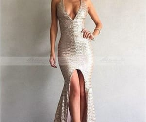 evening dress, long dress, and celebrity dress image