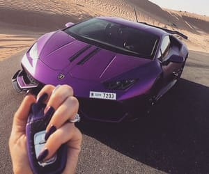 car, luxury, and purple image
