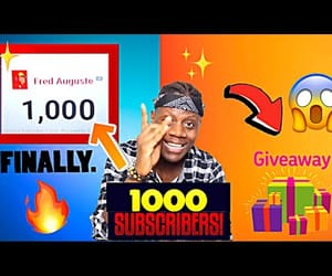 1000, giveaways, and fred auguste image
