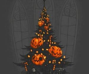 Halloween, pumpkin, and christmas image