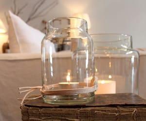 candle, diy, and lighting image