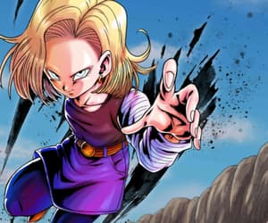 dragon ball, dbz, and android 18 image