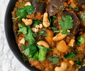 vegetarian recipe, foods recipes, and curry recipe image