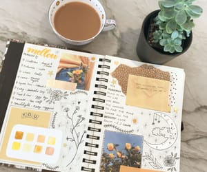 art, gentle, and journal image