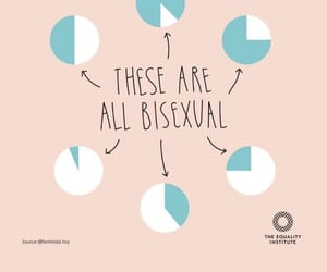 bisexual and lgbtqia+ image