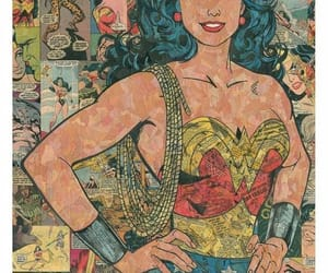 wonder woman, comic, and wallpaper image