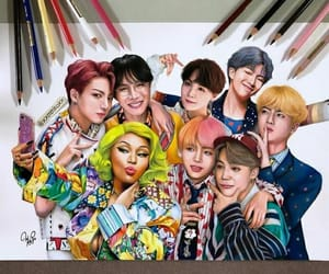 art, idol, and kpop image
