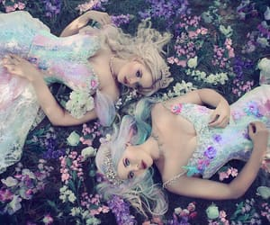 beauty, fairytale, and flowers image