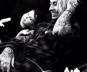 black and white, Tattoos, and ronnie radke image