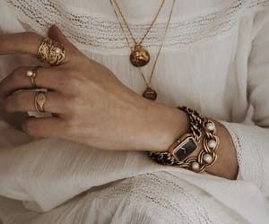 bracelets, necklaces, and rings image