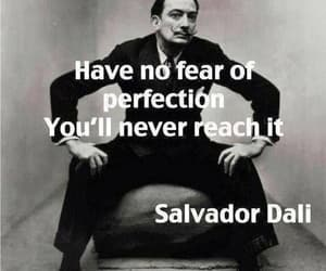 quotes, perfection, and dali image