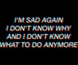 aesthetic, depressed, and Lyrics image
