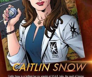 the flash, caitlin snow, and dctv image