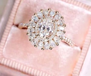 fashion, ring, and diamond image