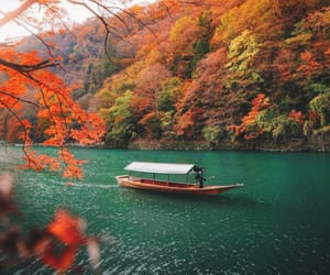 travel, adventure, and autumn image