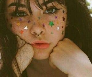 girl, stars, and tumblr image