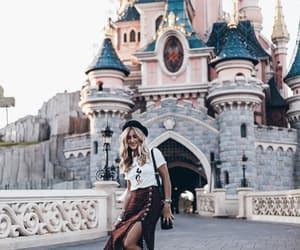 blogger, disneyland, and fashion image
