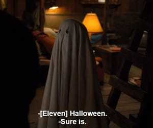 stranger things, Halloween, and eleven image