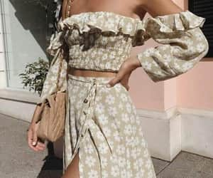 fashion, outfit, and woman image