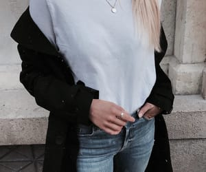 accessories, cardigan, and chic image