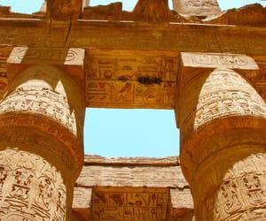 egypt, luxor, and karnak temple image