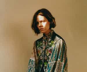 Freja Beha Erichsen, model, and light image