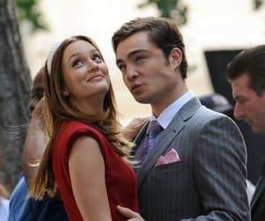 love, chuck bass, and couple image