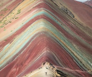 color, mountain, and peru image